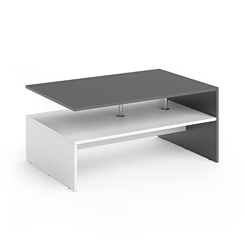 VICCO-Couchtisch-AMATO-90-x-60-cm-Wohnzimmertisch-Beistelltisch-Holztisch-Kaffeetisch-3-Farben-zur-Auswahl-Anthrazit-Wei-0