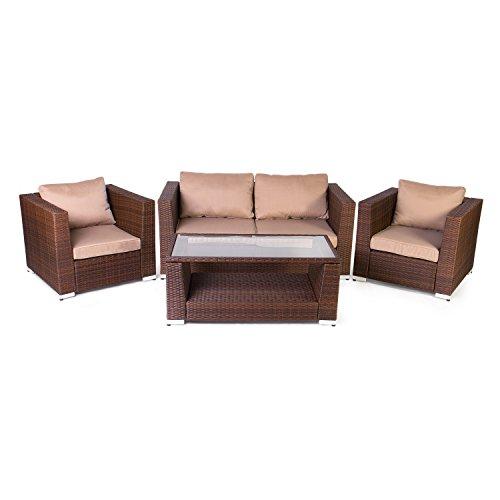 Vanage-Gartengarnitur-Chill-und-Lounge-Set-Rom-braun-0