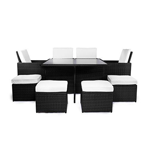 Vanage-Gartenmbel-Sets-GartengarniturGartenmbel-Chill-und-Lounge-Set-Sydney-schwarz-wei-0