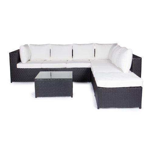 Vanage-Gartenmbel-Sets-XXXL-Gartengarnitur-Chill-und-Lounge-Set-Montreal-bereits-zusammengebaut-schwarz-wei-0