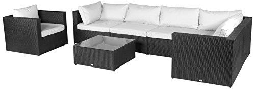 Vanage XXXL-Gartengarnitur, Chill und Lounge Set Hamburg, bereits zusammengebaut