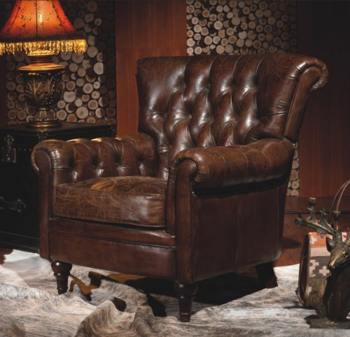 Vintage-Echtleder-Chesterfield-Ledersessel-Design-Lounge-Leder-Club-Sessel-449-0