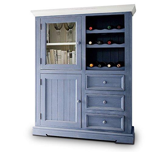 Vitrine-Weinsatz-Landhausstil-Falun-Massivholz-in-wei-blau-Vintage-Style-0