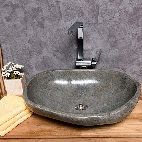 WOHNFREUDEN-Naturstein-Waschbecken-rund-oval-60-cm--Top-Qualitt--einzeln-fotografiert-Auswahl-Steinwaschbecken-aus-Bildergalerie--Top-Kundenservice--Aufsatzwaschbecken-aus-Stein-fr-ihr-Badezimmer--0