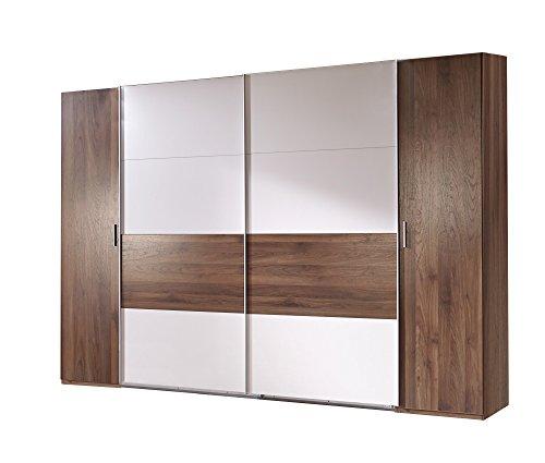 Wimex-K02788-Dreh-Schwebetrenschrank-Holz-columbia-nussbaum-nachbildung-abstze-prosecco-farbig-65-x-270-x-208-cm-0