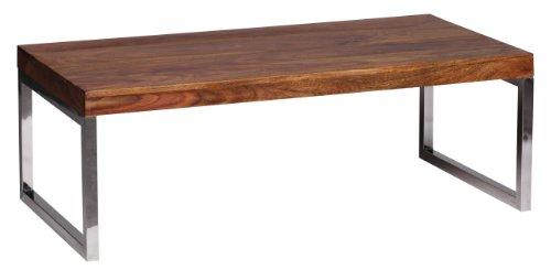 Wohnling WL1.307 Sheesham Couchtisch Massiv Massivholz 120 x 60 x 40 cm