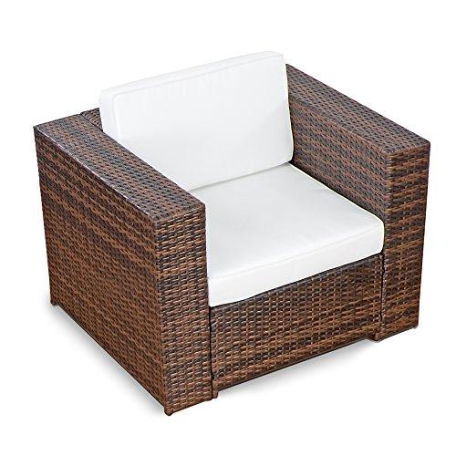 XINRO-1er-Premium-Lounge-Sessel-Lounge-Sofa-Gartenmbel-gnstig-Loungesofa-Polyrattan-XXL-Rattan-Sessel-InOutdoor-handgeflochten-mit-Kissen-braun-0