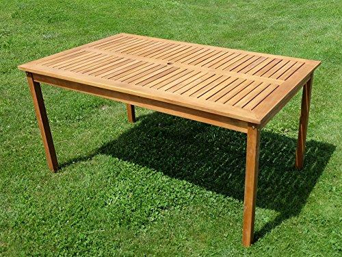 XL-Holztisch-Gartentisch-Esstisch-Garten-Tisch-150x90cm-aus-Holz-Eukalyptus-gelt-wie-Teak-Modell-SARIA-EU-von-AS-S-0