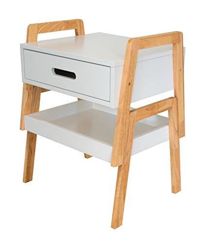 Bonvivo designer beistelltisch karl als clevere for Holzklotz als beistelltisch