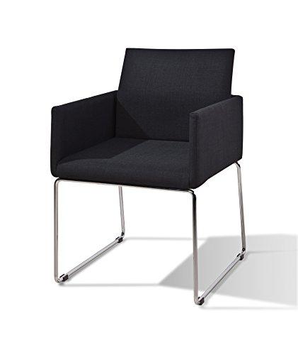 My chair esszimmer stuhl retro design 2 er set anthrazit for Esszimmer retro design
