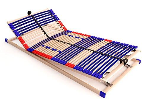 stabiler-Lattenrost-100-BUCHE-Kopf-und-Futeil-verstellbar-SCHULTERFRSUNG-7-Zonen-42-Federleisten-Hrte-Regulierung-Mittelgurt-SCHLUMMERPARADIES-SLEEP-BEST-42-VARIO-PLUS-unmontiert-90x200-cm-0