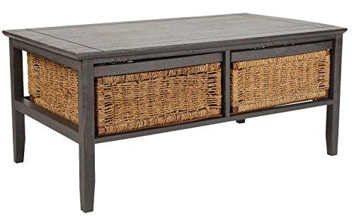 ts-ideen - Design Couchtisch Beistelltisch Wohnzimmer-Tisch Holz Kaffeetisch 107 x 60,5 cm