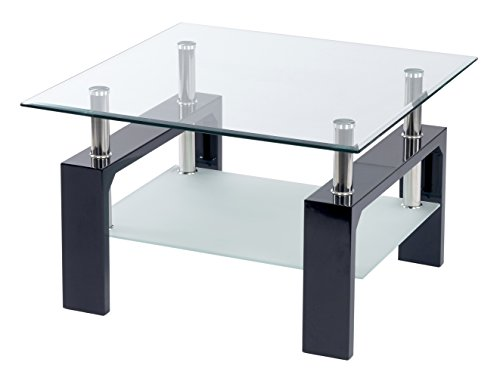 ts-ideen-Design-Wohnzimmer-Couch-Glastisch-Glas-Beistell-Tisch-Edelstahl-Holz-Hochglanz-Schwarz-8-mm-ESG-Sicherheitsglas-mit-Ablage-0