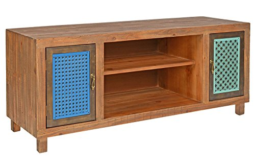 ts ideen tv bank lowboard sideboard kommode hifi schrank regal flur diele wohnzimmer vintage. Black Bedroom Furniture Sets. Home Design Ideas