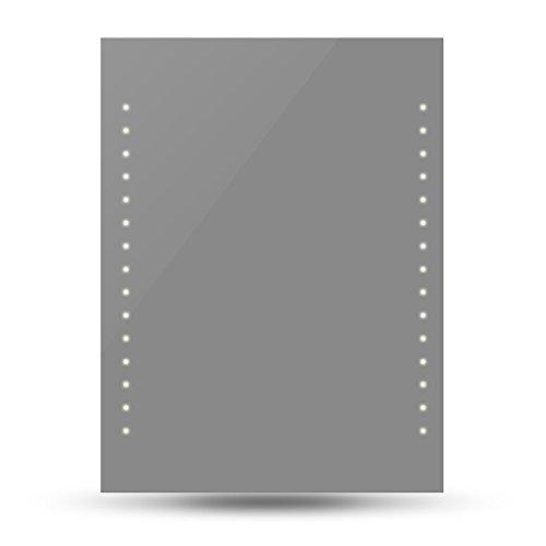 vidaXL Badspiegel Lichtspiegel LED Spiegel Wandspiegel 50 x 60cm
